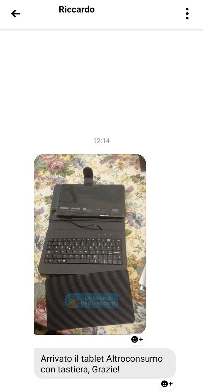 tablet altroconsumo testimonianza