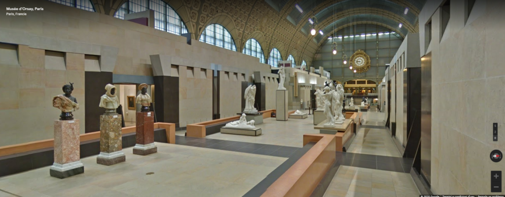 google arts & culture virtual tour