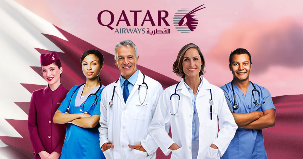 qatar airways operatori sanitari