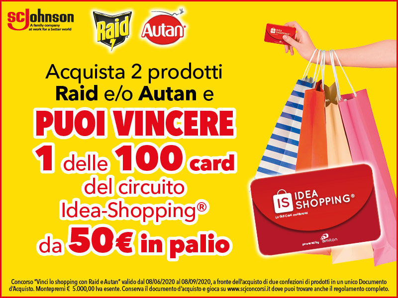 buoni idea shopping raid autan