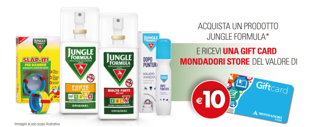 jungle formula mondadori