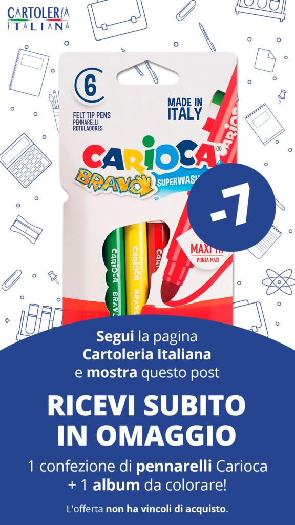 pennarelli carioca gratis