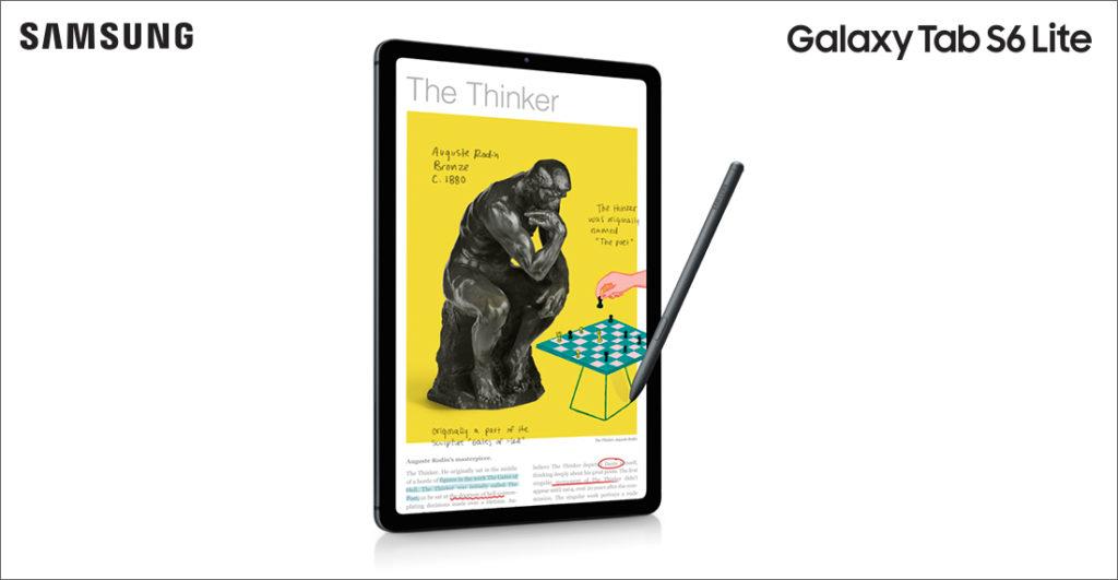 prova Samsung Galaxy Tab S6 Lite