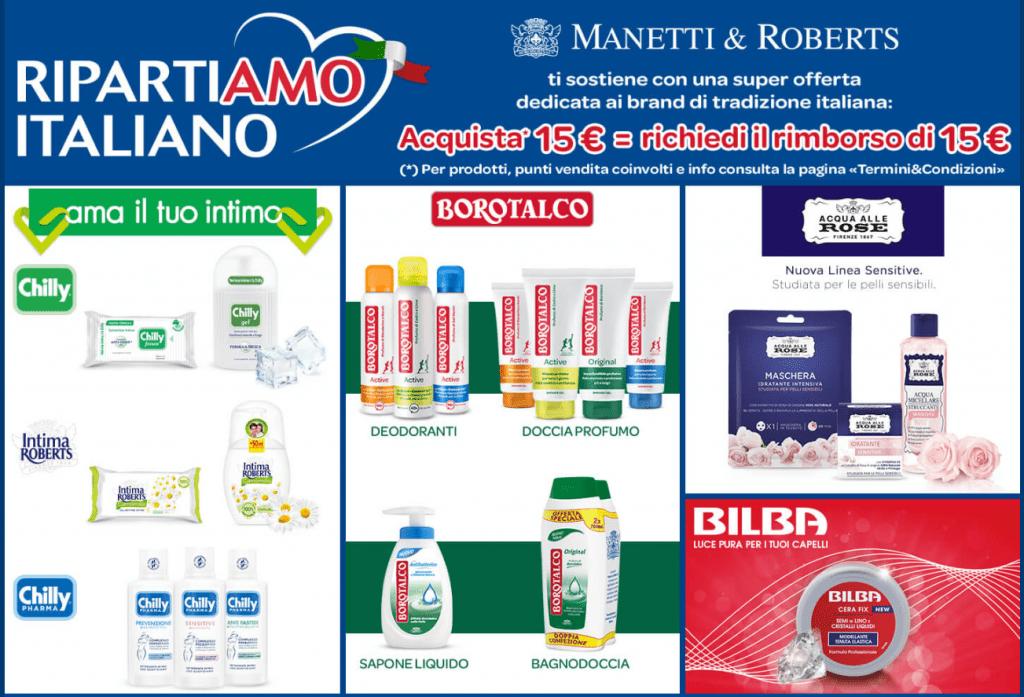 manetti & roberts ripartiamo italiano rimborso completo