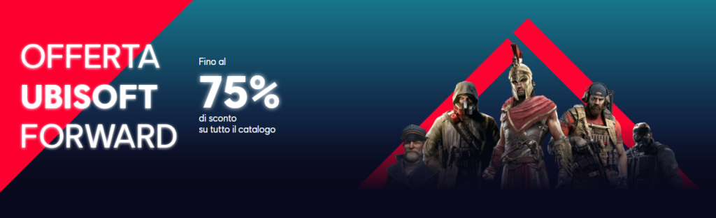 Ubisoft Forward saldi