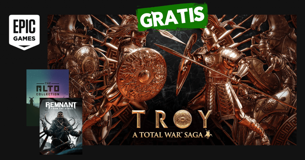 epic games a total war saga troy remnant from the ashes the alto collection gratis