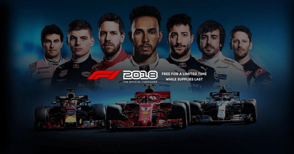 f1 2018 gratis pc