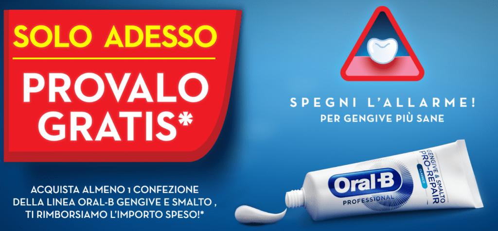 dentifricio oral-b rimborso