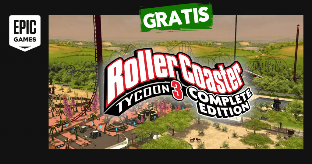 epic games rollercoaster tycoon 3 gratis
