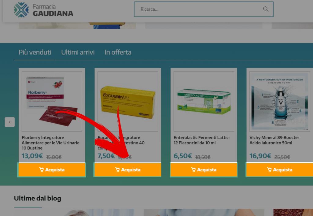 farmacia gaudiana screenshot 2