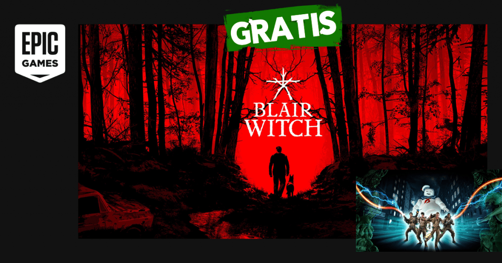epic games blair witch ghostbusters gratis