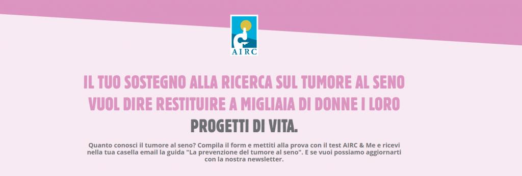 test tumore al seno airc