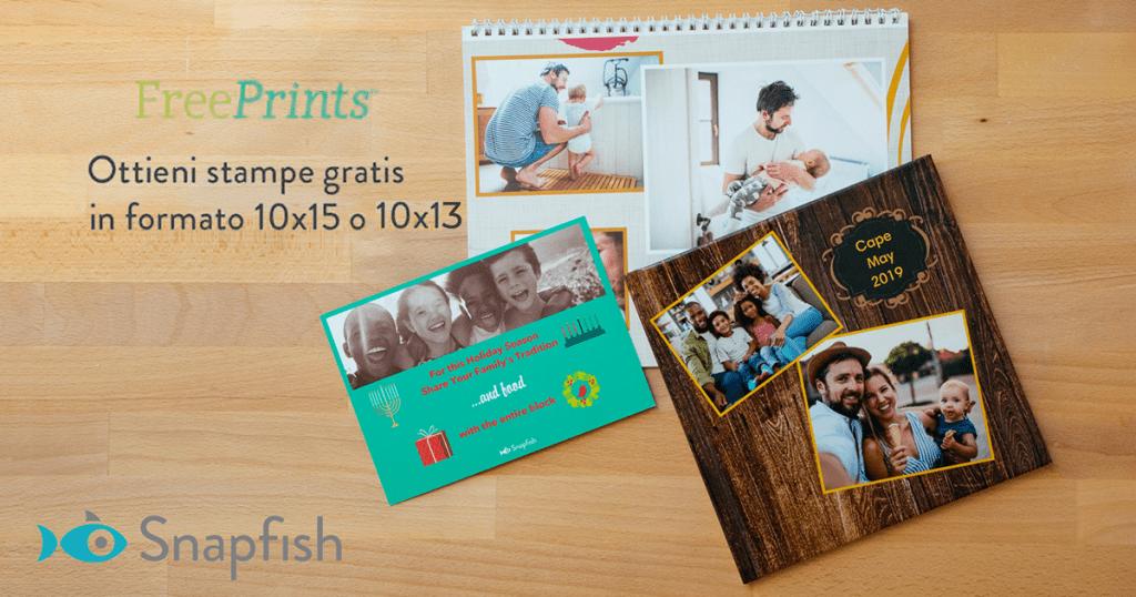 stampe fotografiche Snapfish
