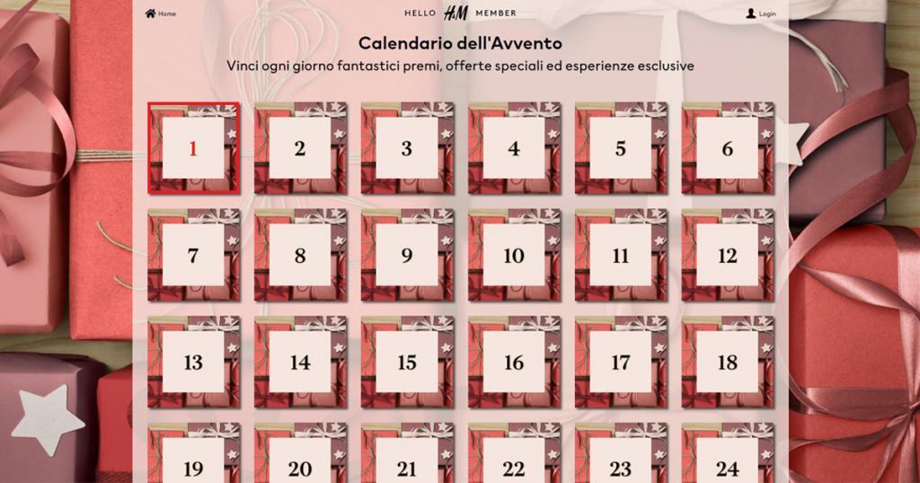 calendario avvento 2020 HM