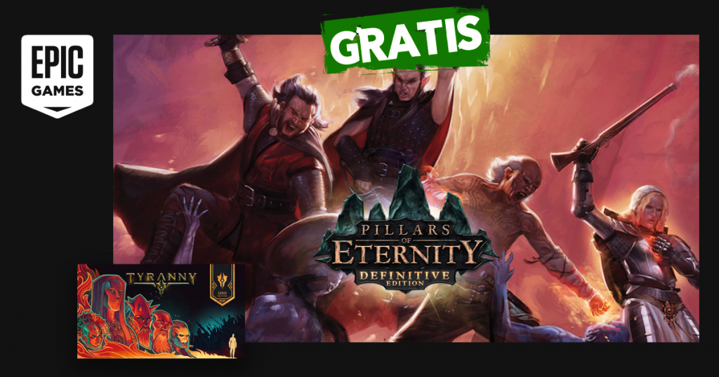 epic games pillars of eternity tyranny gratis