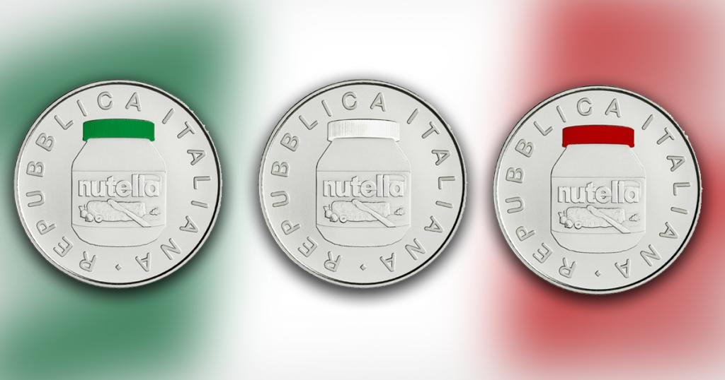 monete nutella da 5 euro impazzano su ebay prezzi pazzi per moneta