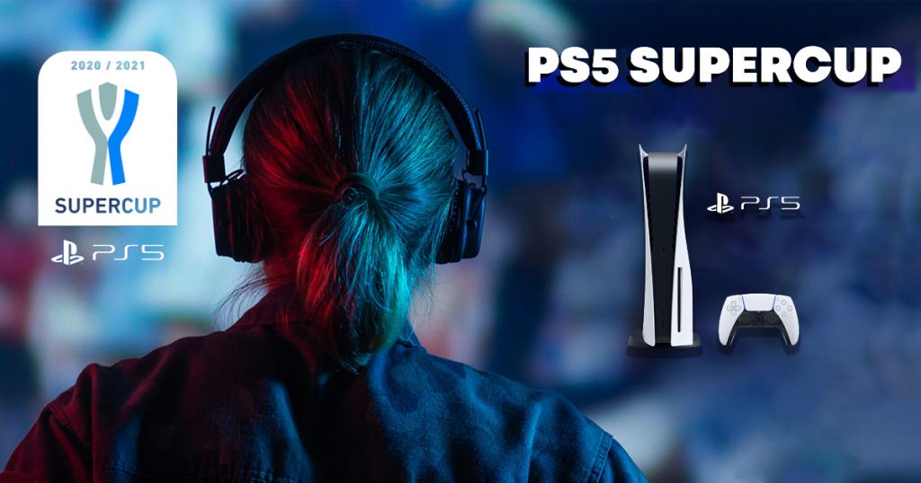 Con il concorso PS5 Super Cup diventa tu telecronista delle tue stesse partite e vinci una Playstation 5 con la tua miglior performance!