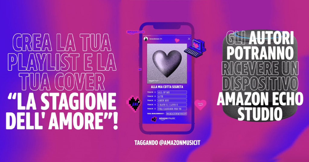 concorso amazon music su instagram
