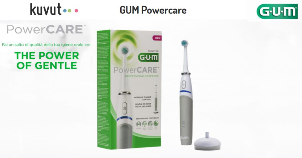 gum powercare rimborso cashback spazzolini elettrici