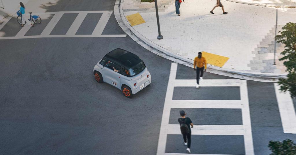 Citroën ami auto elettrica 14 anni