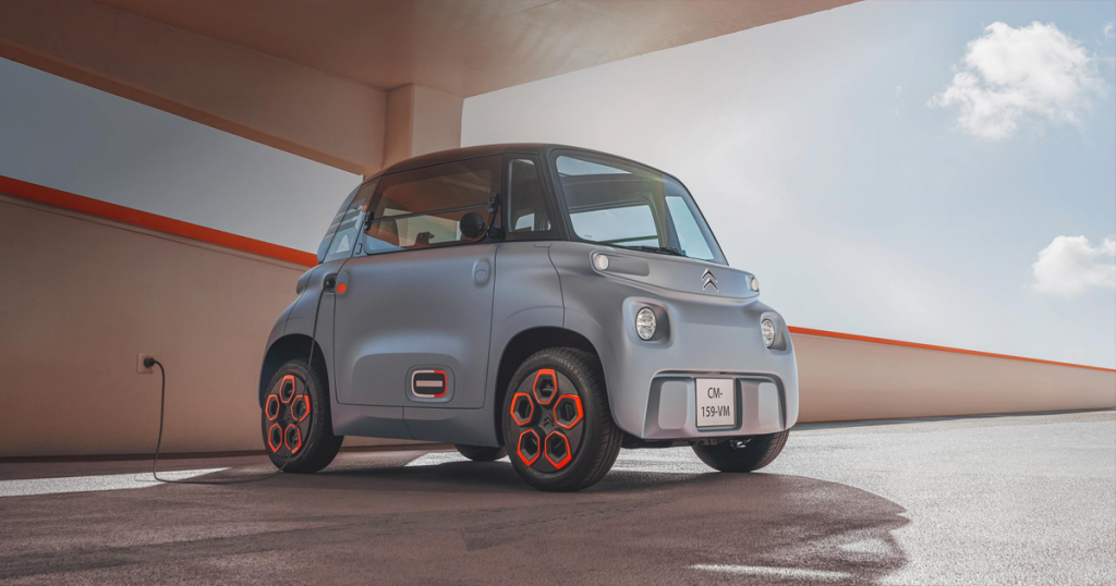 Citroën ami elettrica