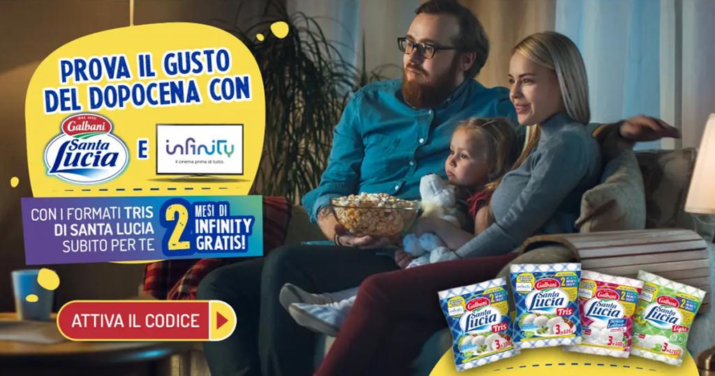 mozzarelle santa lucia infinity tv