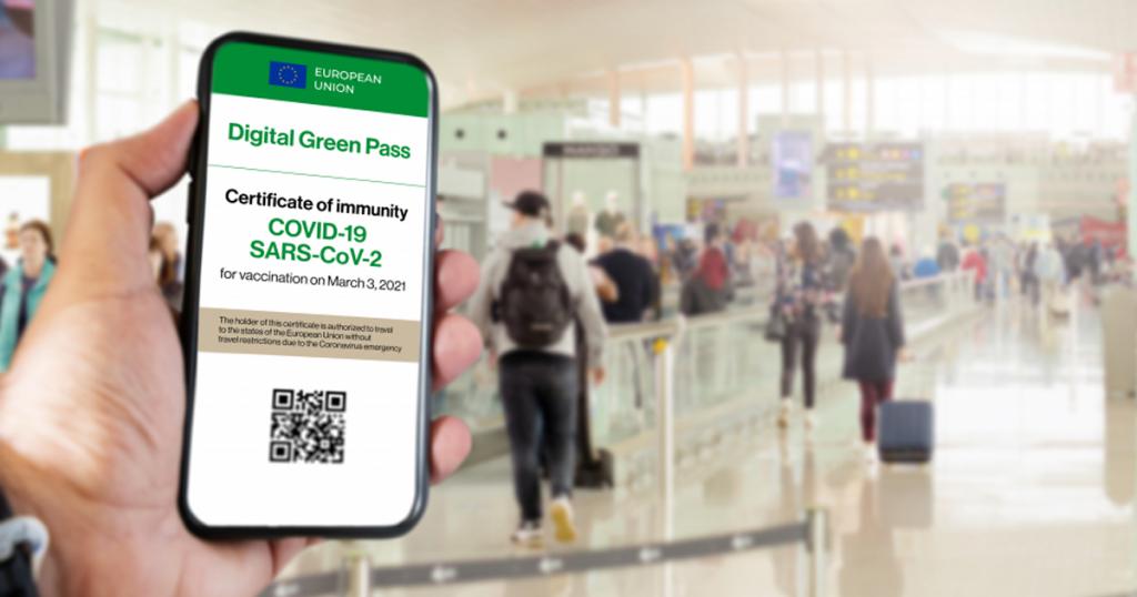 digital green certificate pass covid passaporto vaccinale