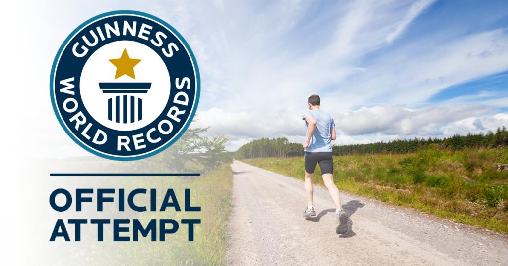 virtual runners virtual run guinnes world record