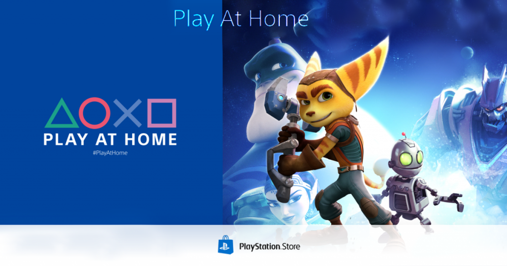 play at home playstation ratchet & clank ps4 gratis
