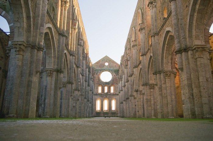 abbazia san galgano chiusdino siena