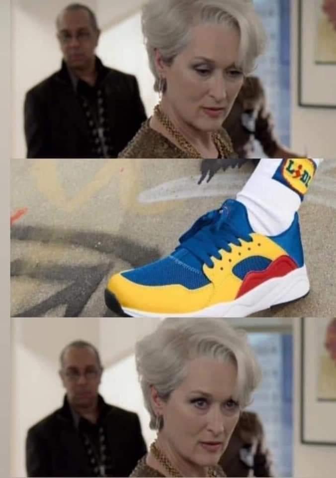 meme scarpe lidl