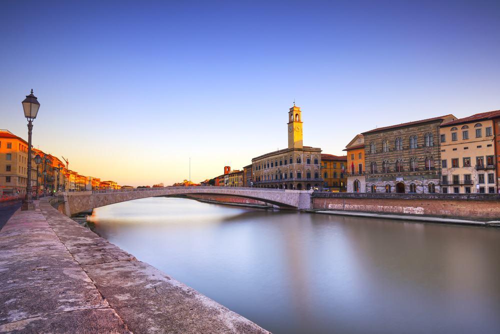 Il Ponte di Mezzo a Pisa