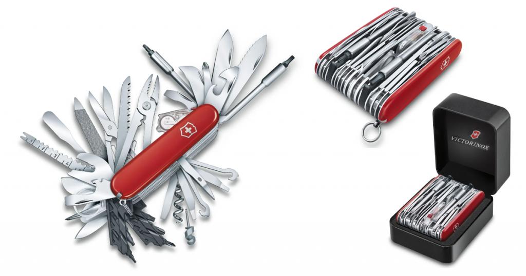coltellino svizzero gigante victorinox 73 accessori