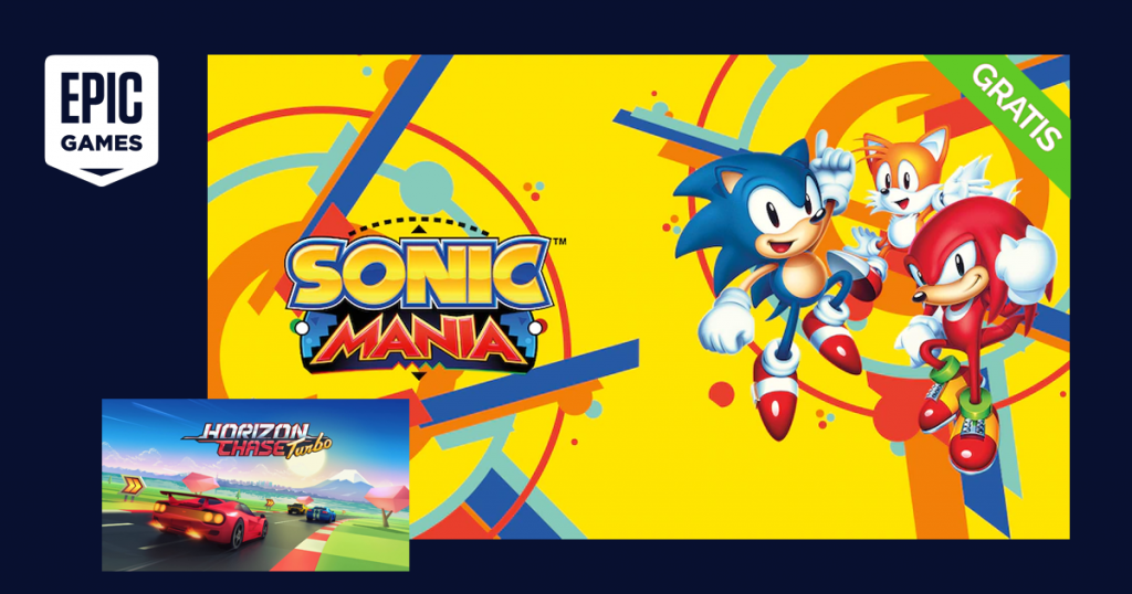 epic games sonic mania gratis