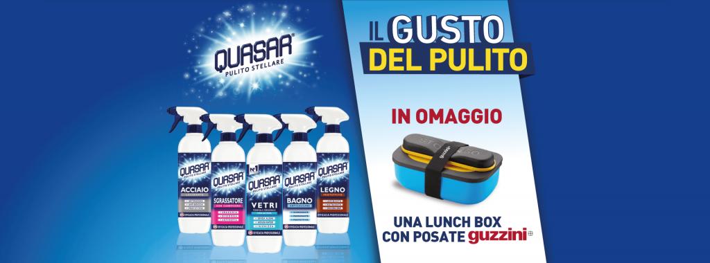quasar lunch box omaggio