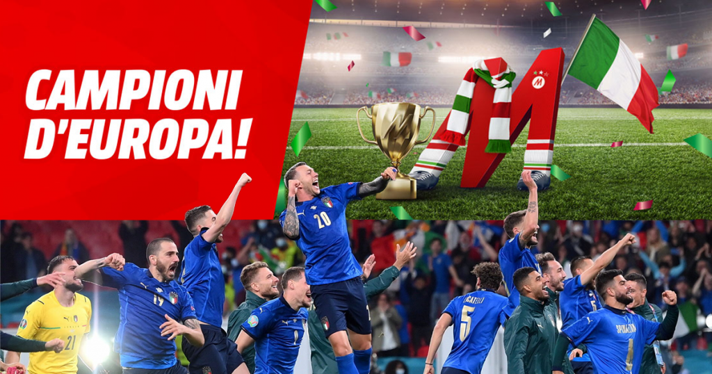mediaworld campioni d'europa
