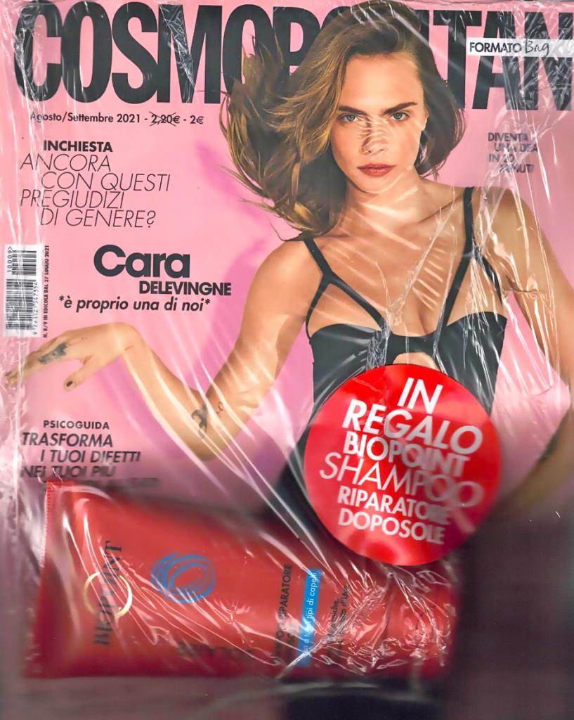 cosmopolitan agosto settembre shampoo riparatore doposole biopoint