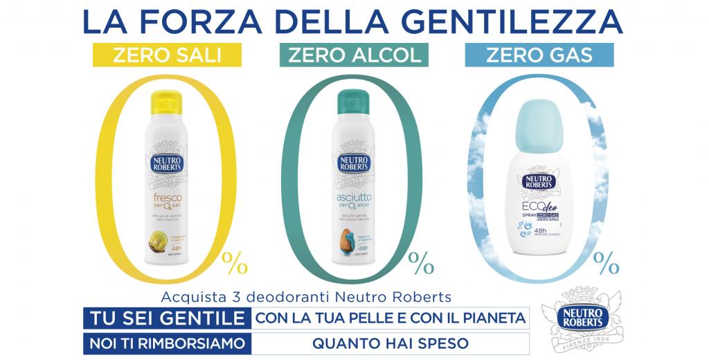 neutro roberts rimborso deodoranti