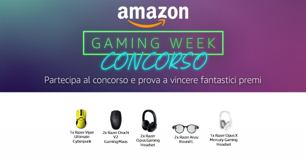 concorso amazon gaming week