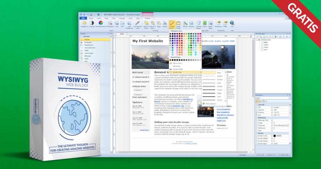 wysiwyg web builder 14 gratis