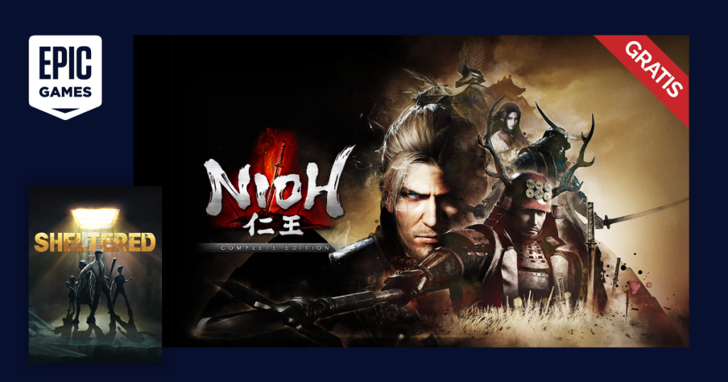 epic games nioh the complete edition sheltered gratis