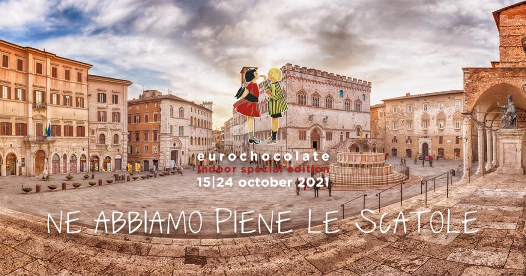 EUROCHOCOLATE ufficiale a Perugia dal 15 al 24 ottobre! Ecco le informazioni necessarie e i possibili alloggi per una dolce fuga